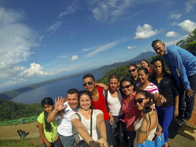 Équipe en stage au Nicaragua