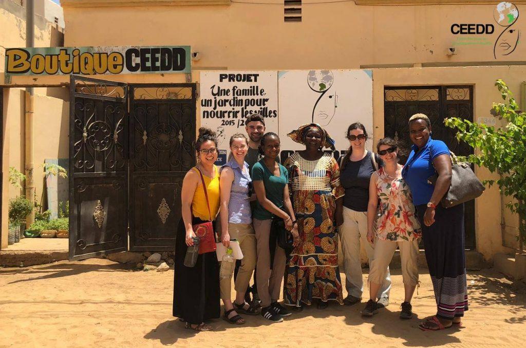 Groupe QSF de SUCO été 2019 au CEEDD au Sénégal