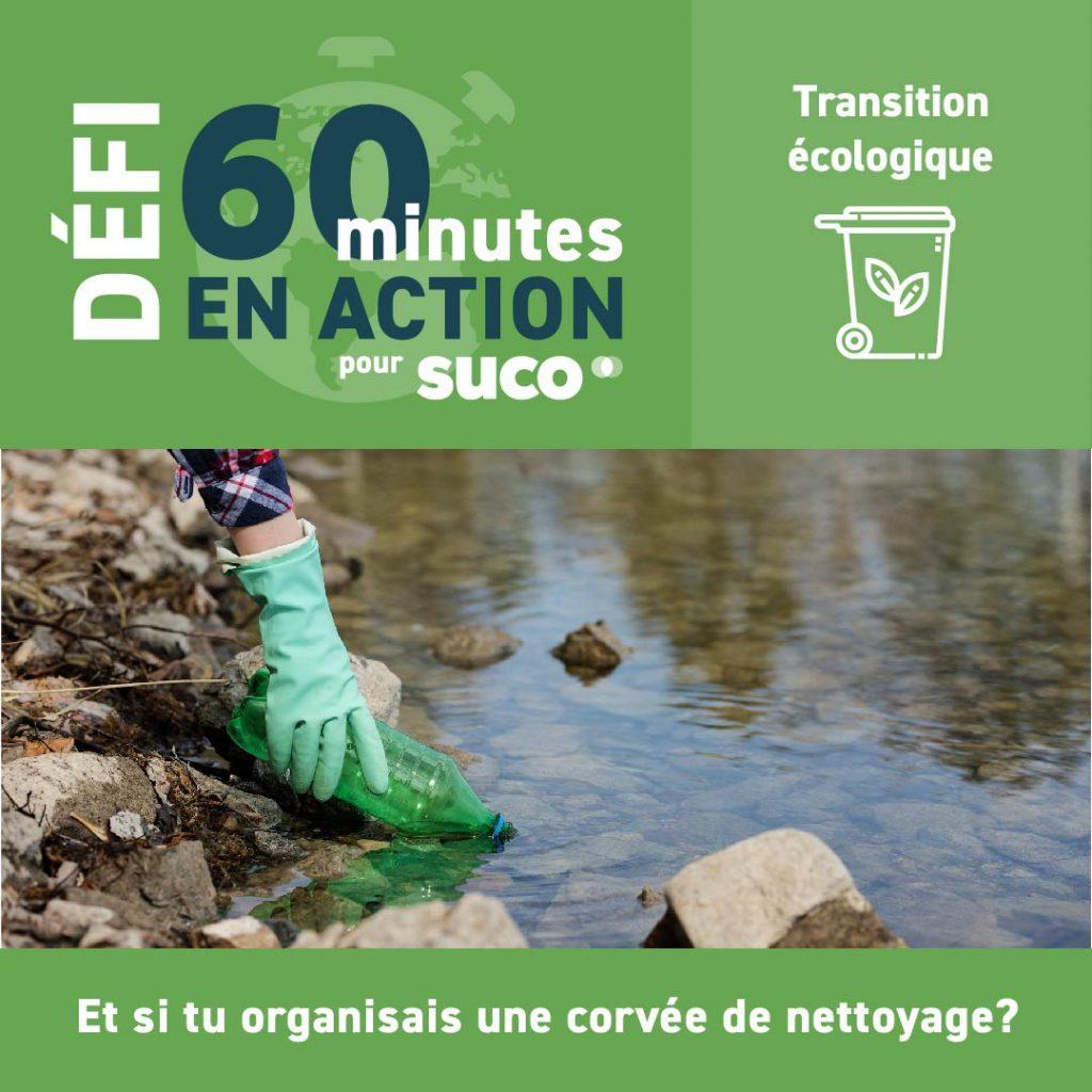 Défi #60minutesSUCO - Transition écologique - 2021