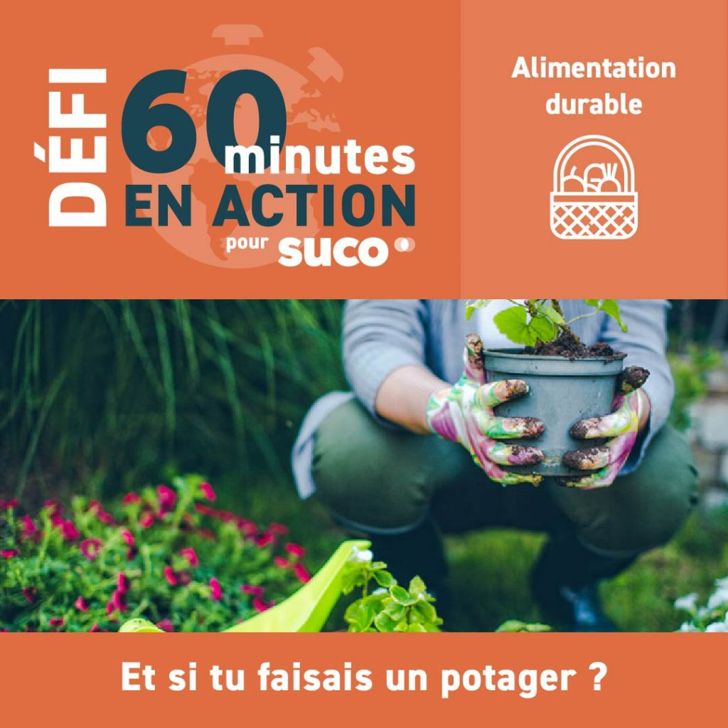 Défi #60minutesSUCO - Alimentation durable - 2021