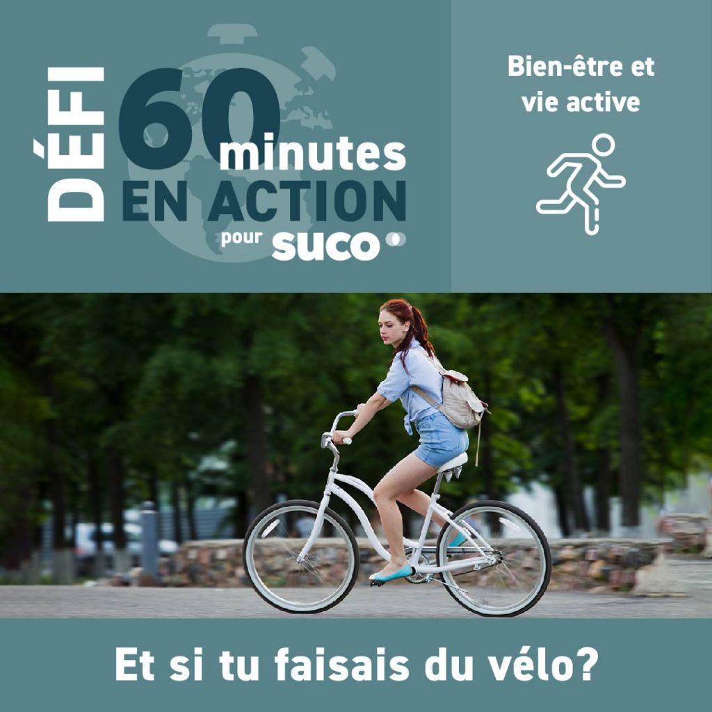 Défi #60minutesSUCO - Bien-être et vie active- 2021